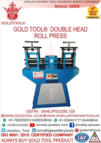Gold Wire & Sheet Rolling Mill