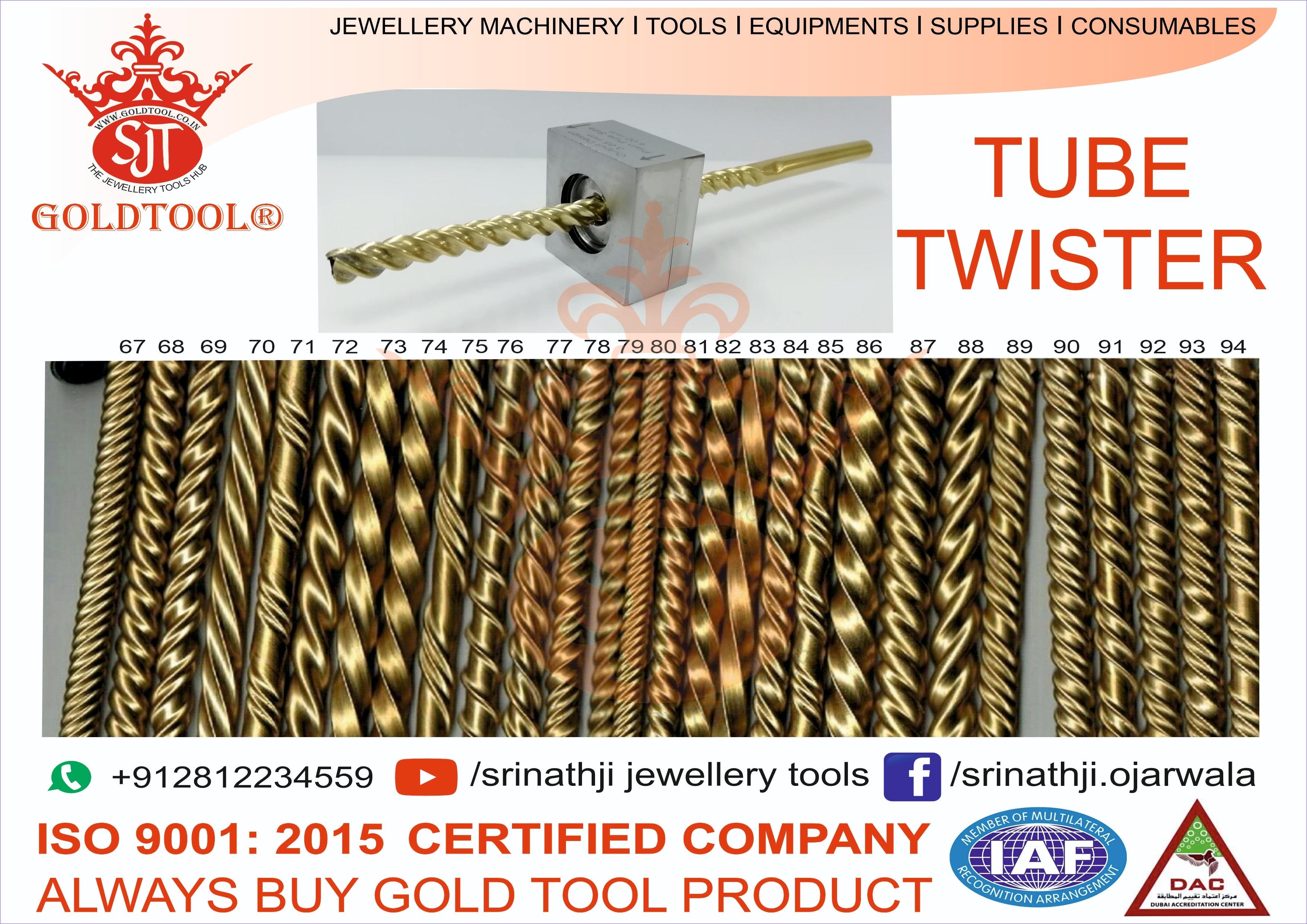 Gold Tool Premium Hollow Pipe