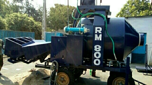 Reversible Concrete Mixer