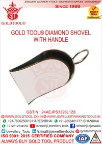Gold Tool Diamond Shovel With Handle
