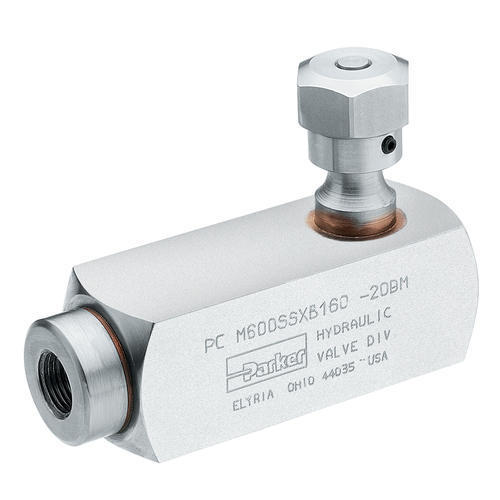 Pilot Operated Check Valve For In-Line Mounting
