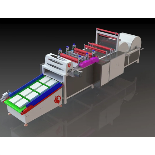 Fully Automatic A4 Paper Sheet Making Machine