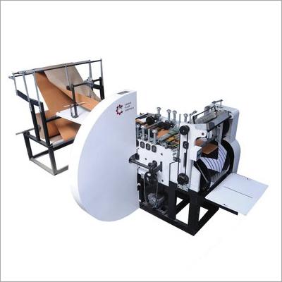 Automatic Shopping Paper Bag Making Machine