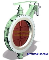 Regulating butterfly valves