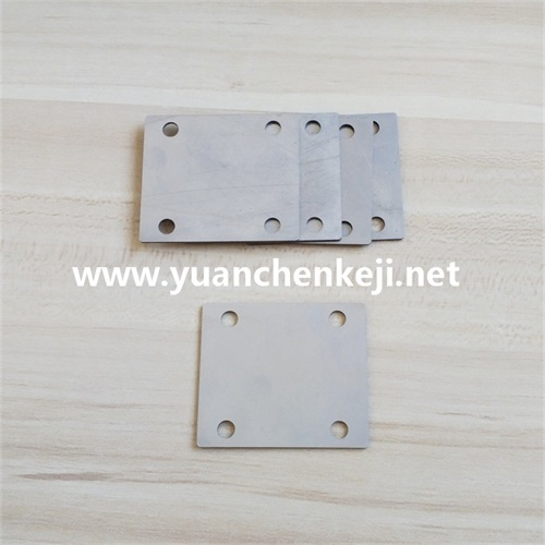 CNC Laser Cutting For 1 mm Stainless Steel Plate Gap Adjustment Gasket