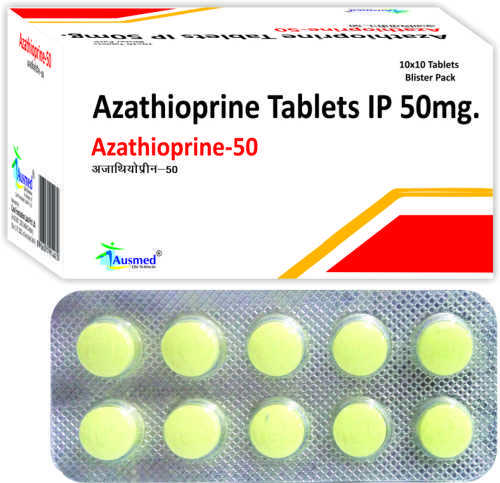 Azathioprine IP 50mg./AZATHIOPRINE-50