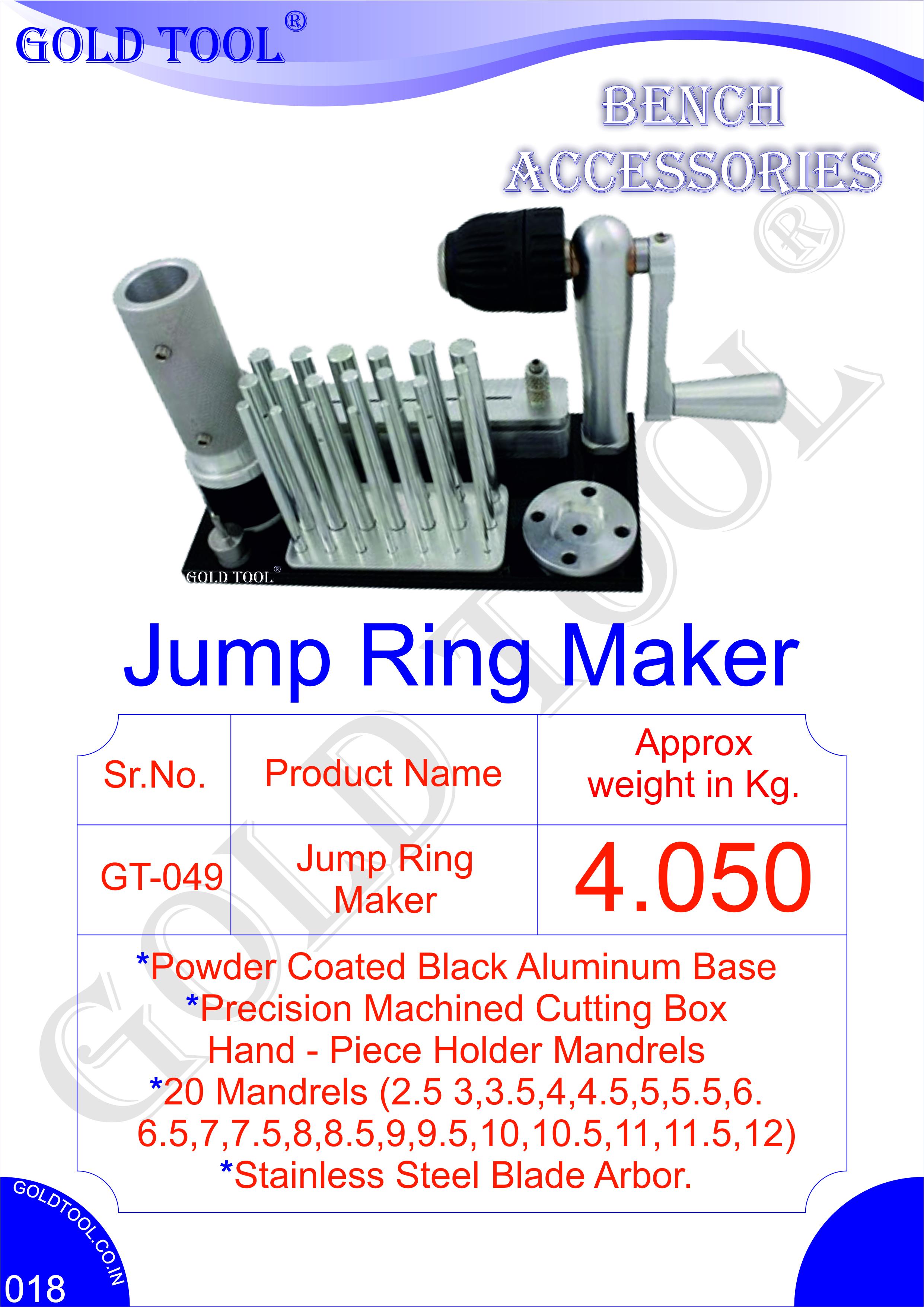 Gold Tool Jump Ring Maker