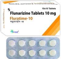 Flularizine Dihydrochloride BP  Eq.to Flunarizine  5mg./FLURATIME-5