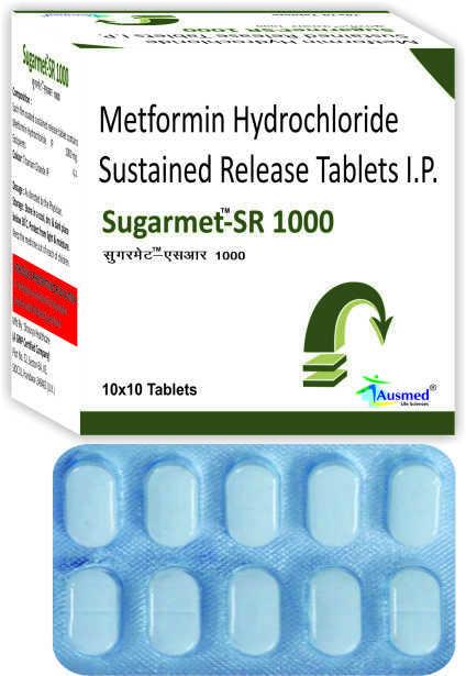 Metformin Hydrochloride IP 500 mg./SUGARMET-500