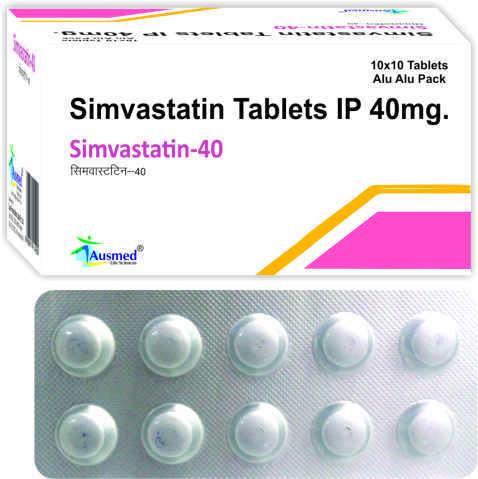 Simvastatin Ip 40mg./simvastatin-40