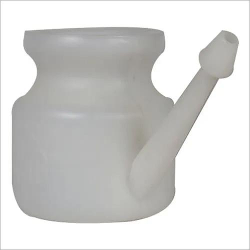 White Plastic Jala Neti Pot