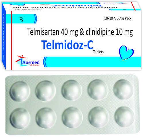 Telmisartan 40 Mg. + Cilindipine  10mg./telmidoz-c