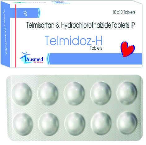 Telmisartan  I.p. 40 Mg. + Hydrochlothaizide I.p