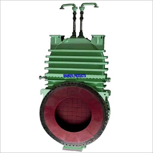 Micro water hot blast valve
