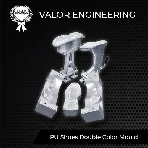 PU Shoe Double Color Mould
