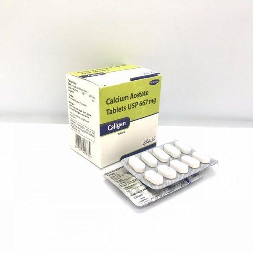 CALIGEN (Calcium Acetate IP 667 MG)