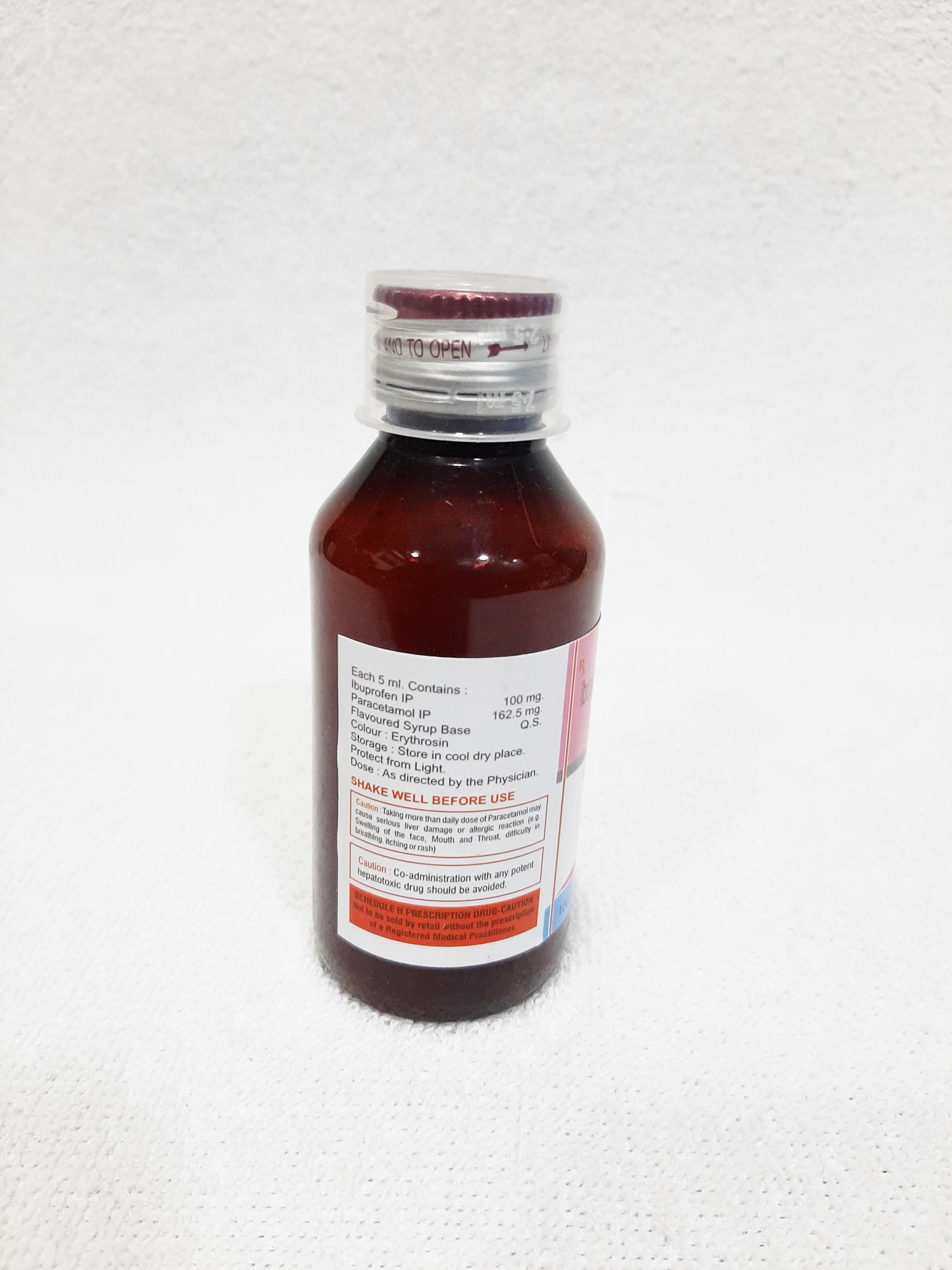Ibuprofen & Paracetamol Syrup