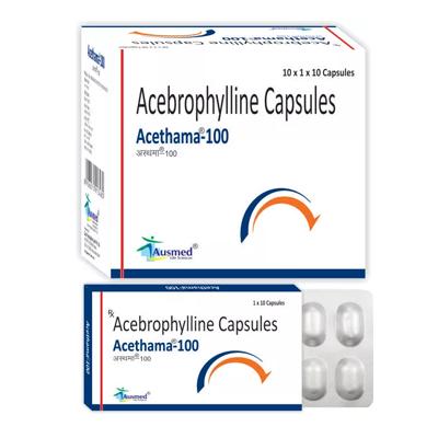 Acebrophylline 100 Mg/acethama-100
