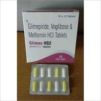 Glimepride ,Voglibose & Meformin HCl Tablets