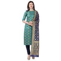 Cotton Jacquard Un-Stitched Dress Material