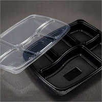 Disposable Plastic Meal Tray