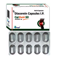 Diacerein IP 50mg/CARTIVOL-50