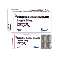 Dabigatran Etexilate Mesylate 86.48gm + Dabigatran Etexilate 75mg./DBGRON-75