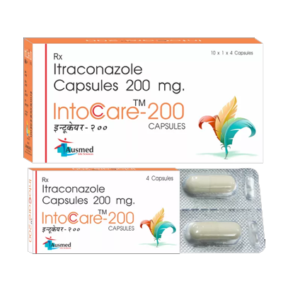 Itraconazole BP 100 mg/INTOCARE-100