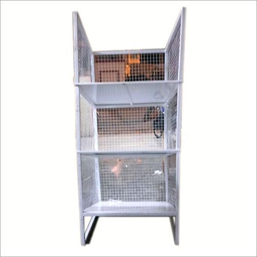 E Commerce Warehouse Mesh Storage Cabinet