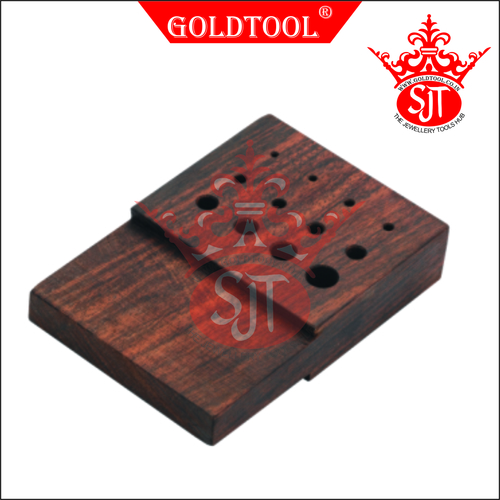 Gold Tool Rosewood Draw Plates