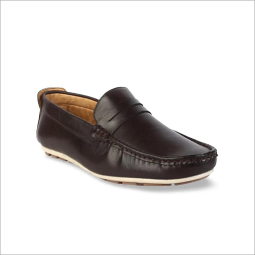 Mens Leather Penny Loafer Shoes