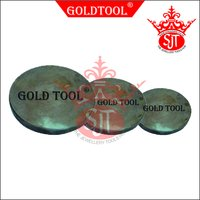 Gold Tool Round Iron Plate
