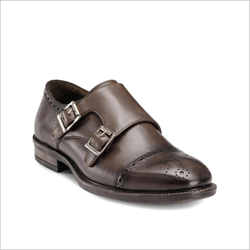 Mens Monk Double Strap Shoes