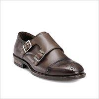 Mens Monk Double Strap Shoes