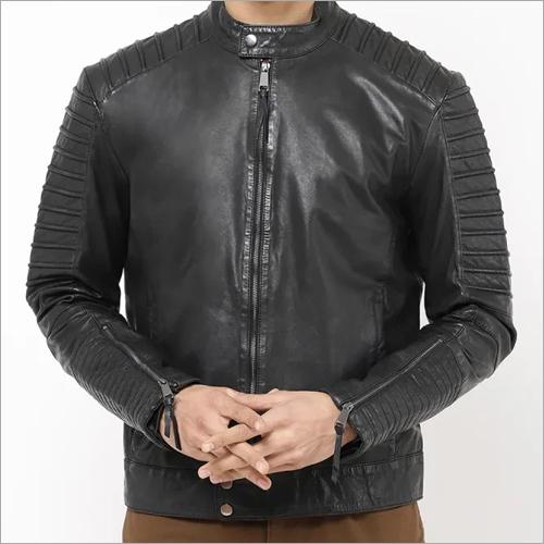 Mens Full Sleeve Leather Jacket