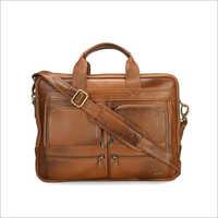 Mens Office Leather Laptop Bag