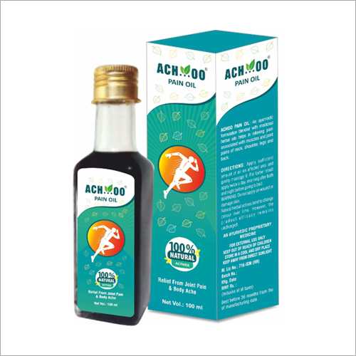 100 ML Achoo Pain Oil