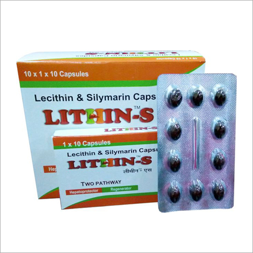 Lacithin And Silymarin Capsules
