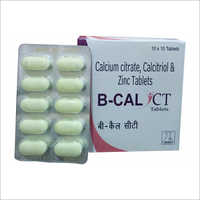 Calcium Citrate Calcitriol And Zinc Tablets