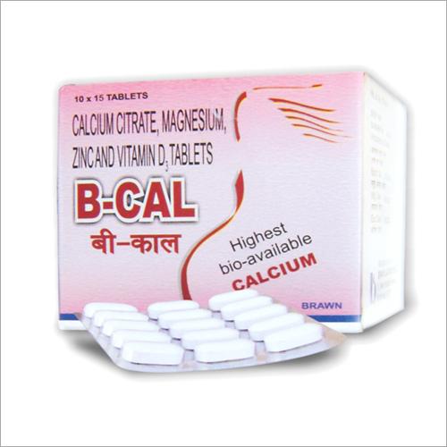 Calcium Citrate Magnesium Zincand Vitamin D Tablets