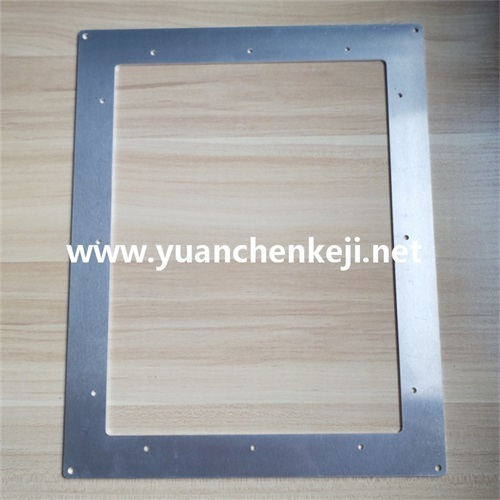 Aluminum Sheet Stamping And Cutting For LED Bracket Frame