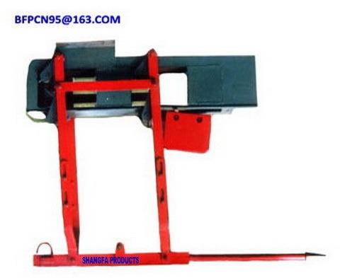 Slag-blocking machine