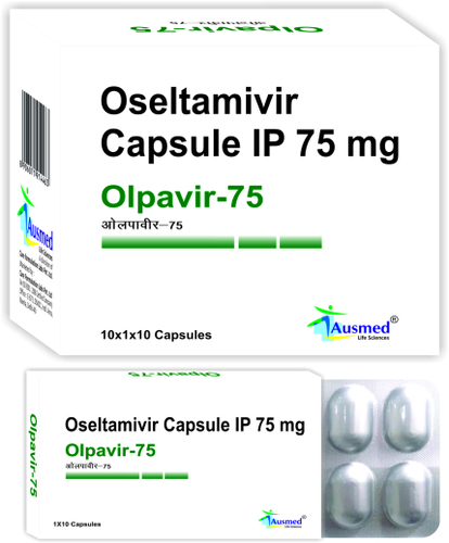 Oseltamivir Phosphate IP  Eq. to Oseltamivir   75 mg./OLPAVIR-75