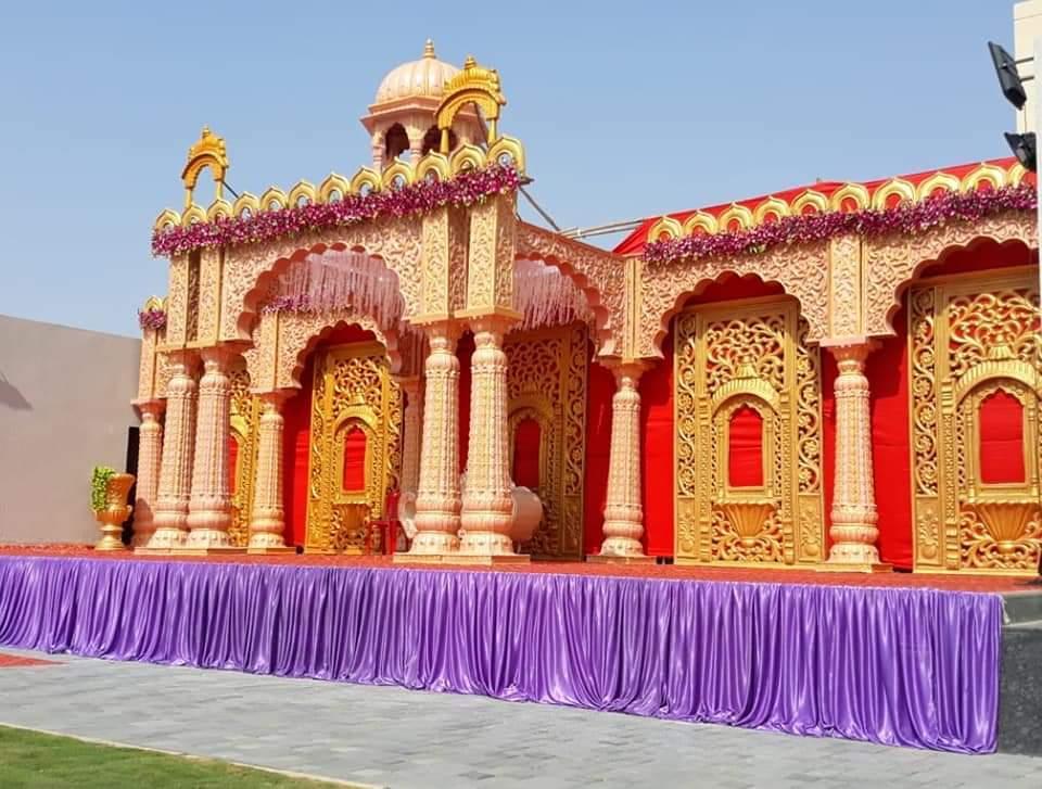 Maharaja Style Wedding Stage