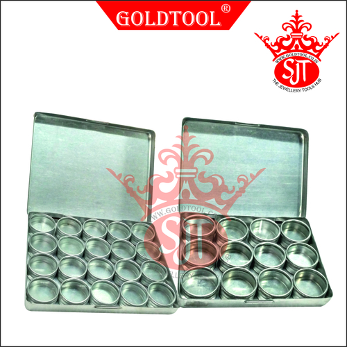 Gold Tool Aluminum Display Box