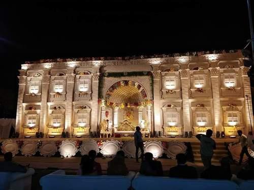 Elegant Wedding Stage