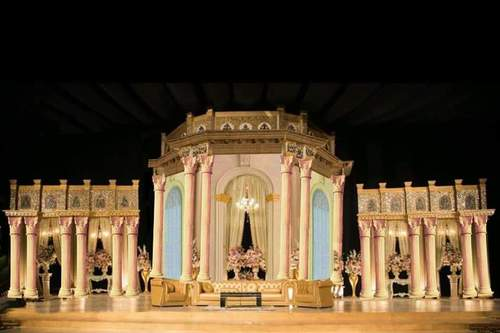 Unique Wedding Stage