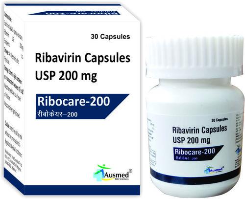 Ribavirin IP 200mg./RIBOCARE-200