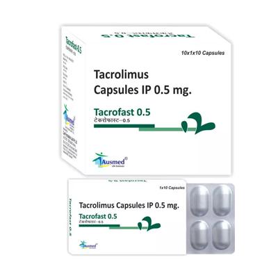 Tacrolimus IP 0.5mg./TACROFAST-0.5