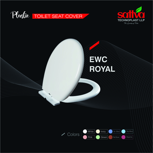 EWC Royal Plastic Toilet Seat Cover
